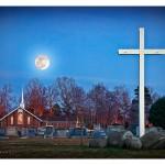 Full Moon over Mt Gilead