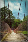 Suspension Bridge at Richfield Park