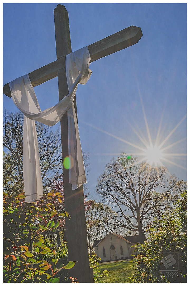 Cross at Flint Hill Community Church