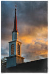 Sunset Steeple